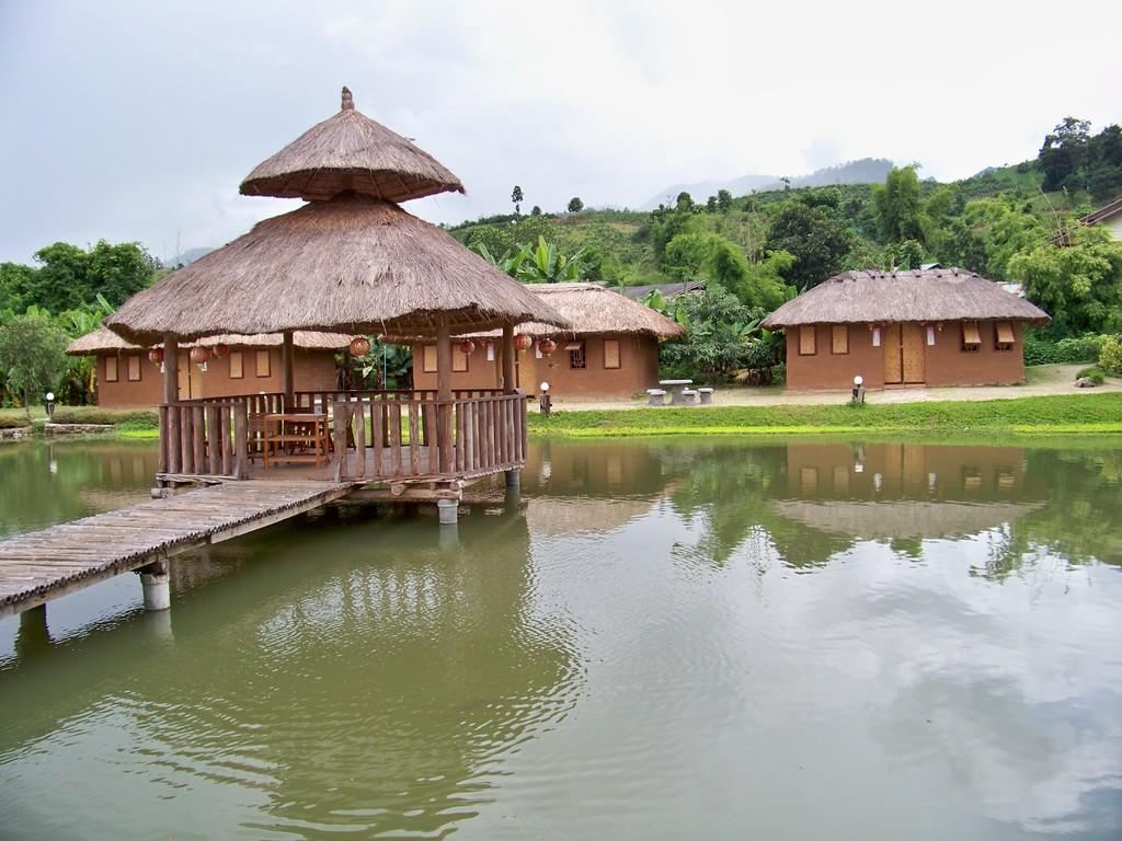village chinois de Pai, au nord de la Thailande