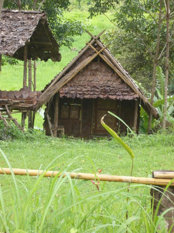bungalows en bambou, région de Pai