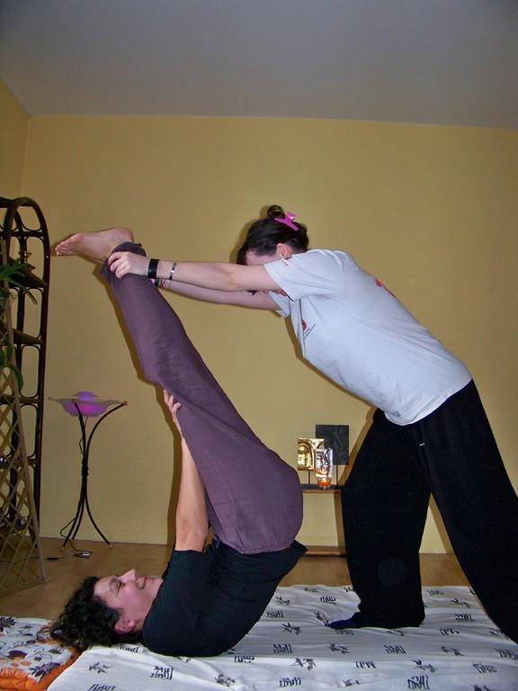 massage thai: stretching tout en douceur !