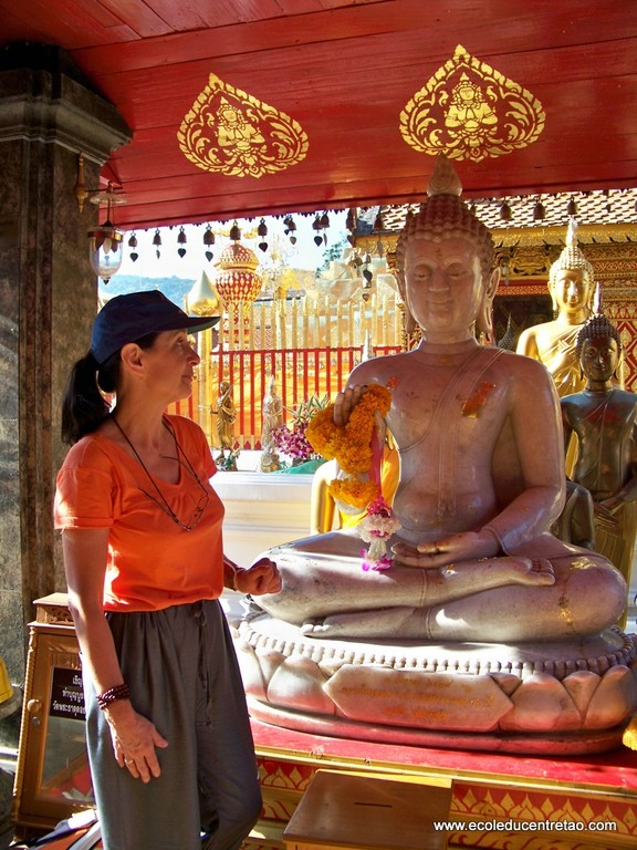 Chiang Mai, Thailande, temple du Doi Suthep