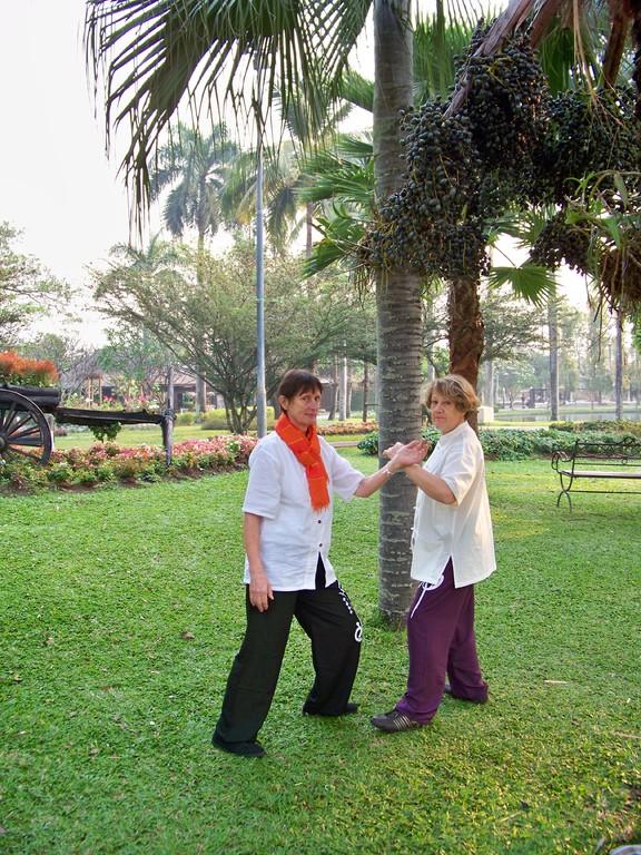 Tui Shou par Michelle et Josiane à Chiang Mai