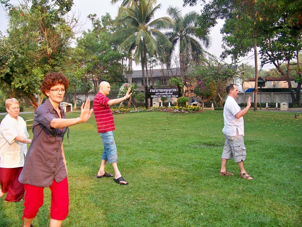 Tai Chi Chuan style Wu à Chiang Mai