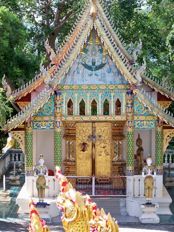 Wat Doi Saket au nord de Chiang Mai