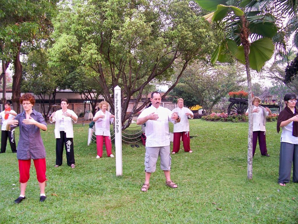 qi gong de l'Arbre de santé à Chiang Mai