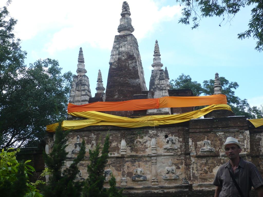 Wat Umong, Chiang Mai avec Philippe ASPE