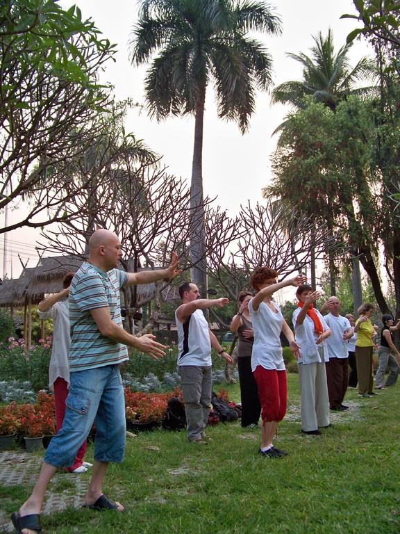 """les Mains Nuages, """"Yun Shou"""", à Chiang Mai"""