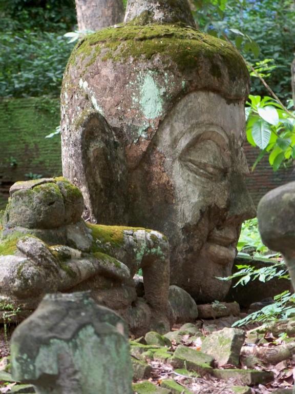ruines à Chiang Maï, Wat Umong