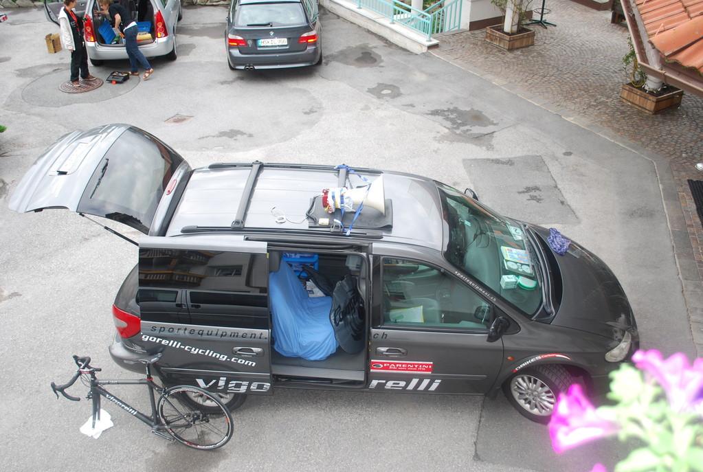 Das neue Pace-Car von Corinne...
