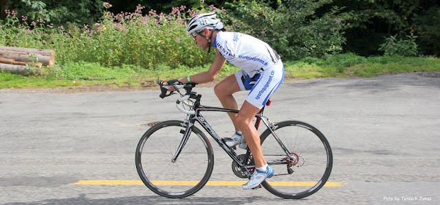 Ausser für`s Pinkeln will ich beim nächsten Rennen nicht mehr vom Rennrad...