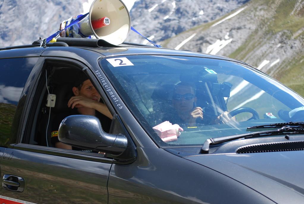 Mit Stefan, Tom und Marina hatte Corinne ein total junges aber verantwortungsbewustes Team im Rücken...