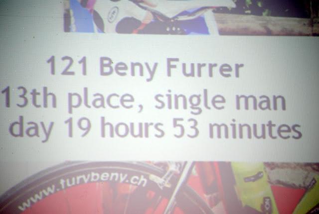 In diesem Jahr waren wir fast 9 Stunden schneller als beim 1. Mal im 2009..