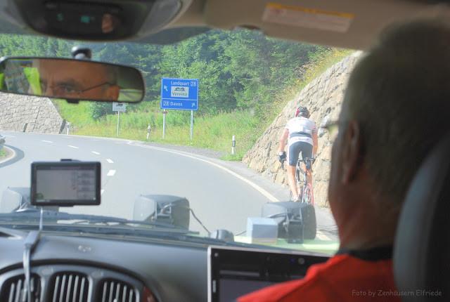 Dani, unser Navigator hatte zu diesem Zeitpunkt noch nicht sehr viel zu tun...