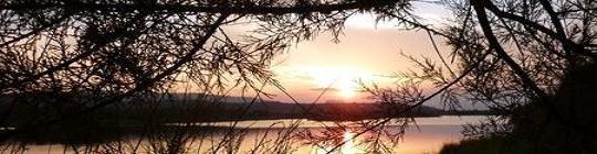 Coucher de soleil sur Villepey