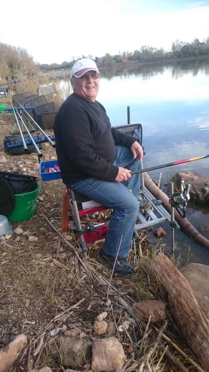 Alain Baudry, 21 poissons pour 1kg825, il remporte son secteur !
