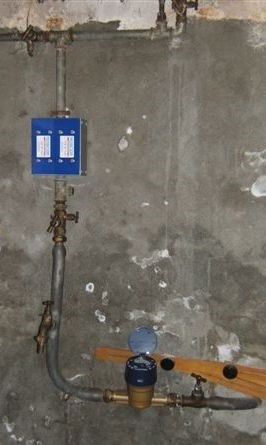 installation anti calcaire médiagon sur une canalisation en ACIER dans une habitation