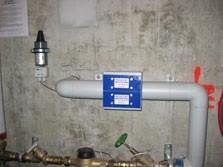 installation anti calcaire médiagon dans une habitation