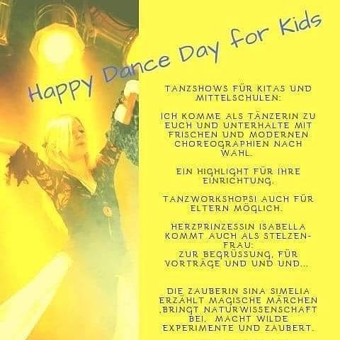 Tanz- und Kindertage mit Simon Isabell