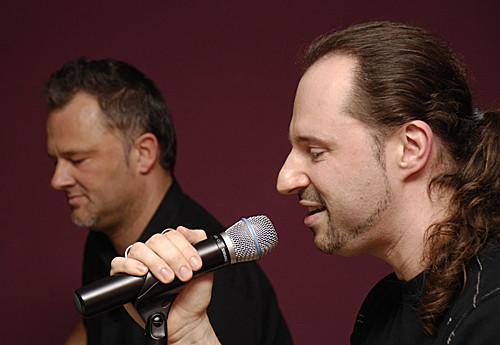 Mathias Scheu und Steven Morrys Live in der Bar jeder Sicht