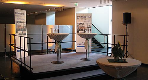 Unterhaltungsmusik, Business-Talk, Rhein-Sieg-Halle, Siegburg