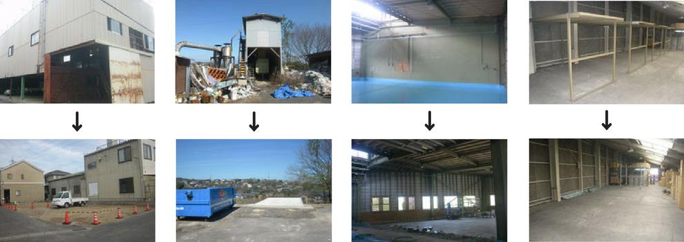 工場営繕工事|解体工事の工事例写真
