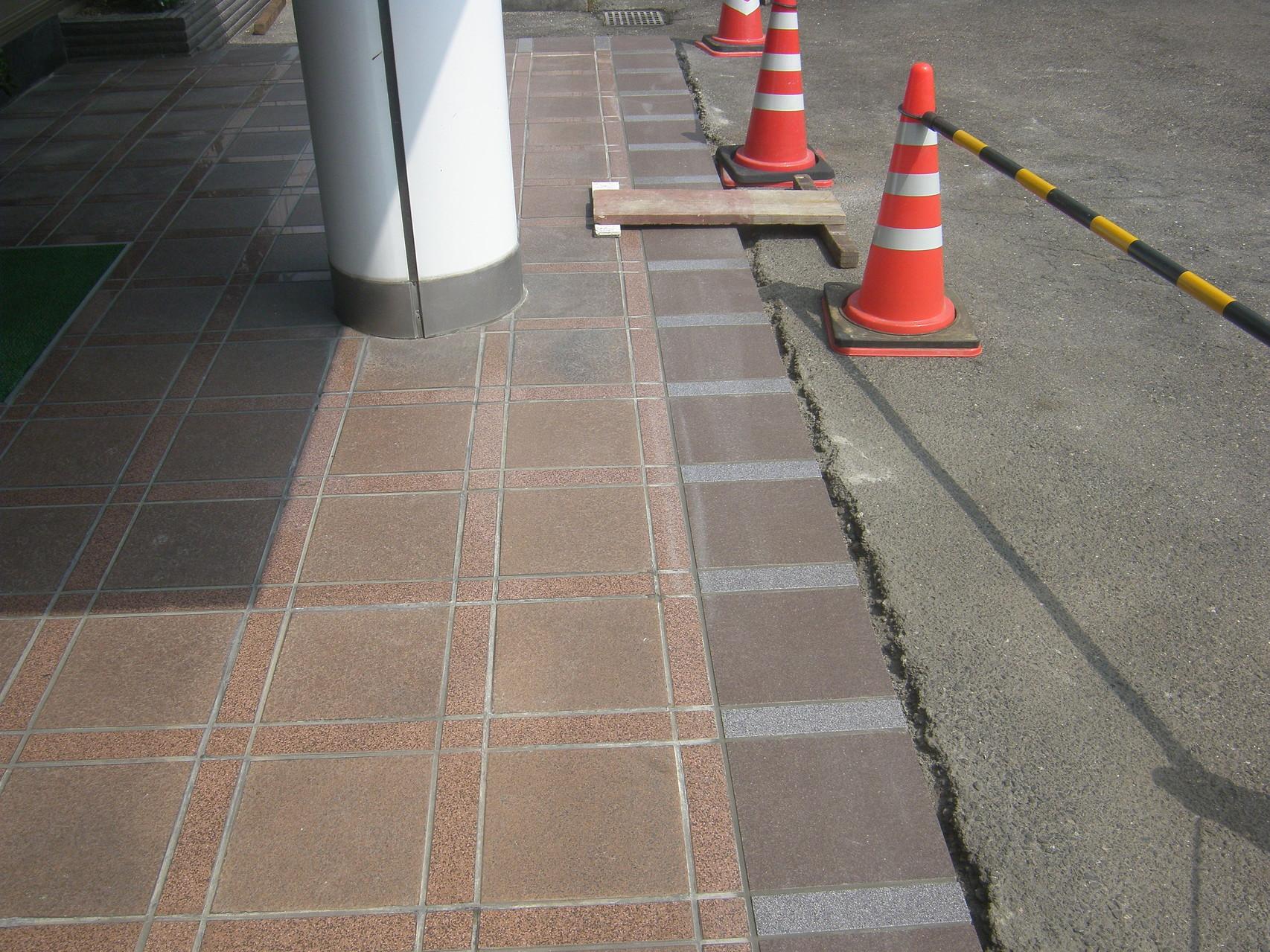 アプローチ改修工事:工程写真