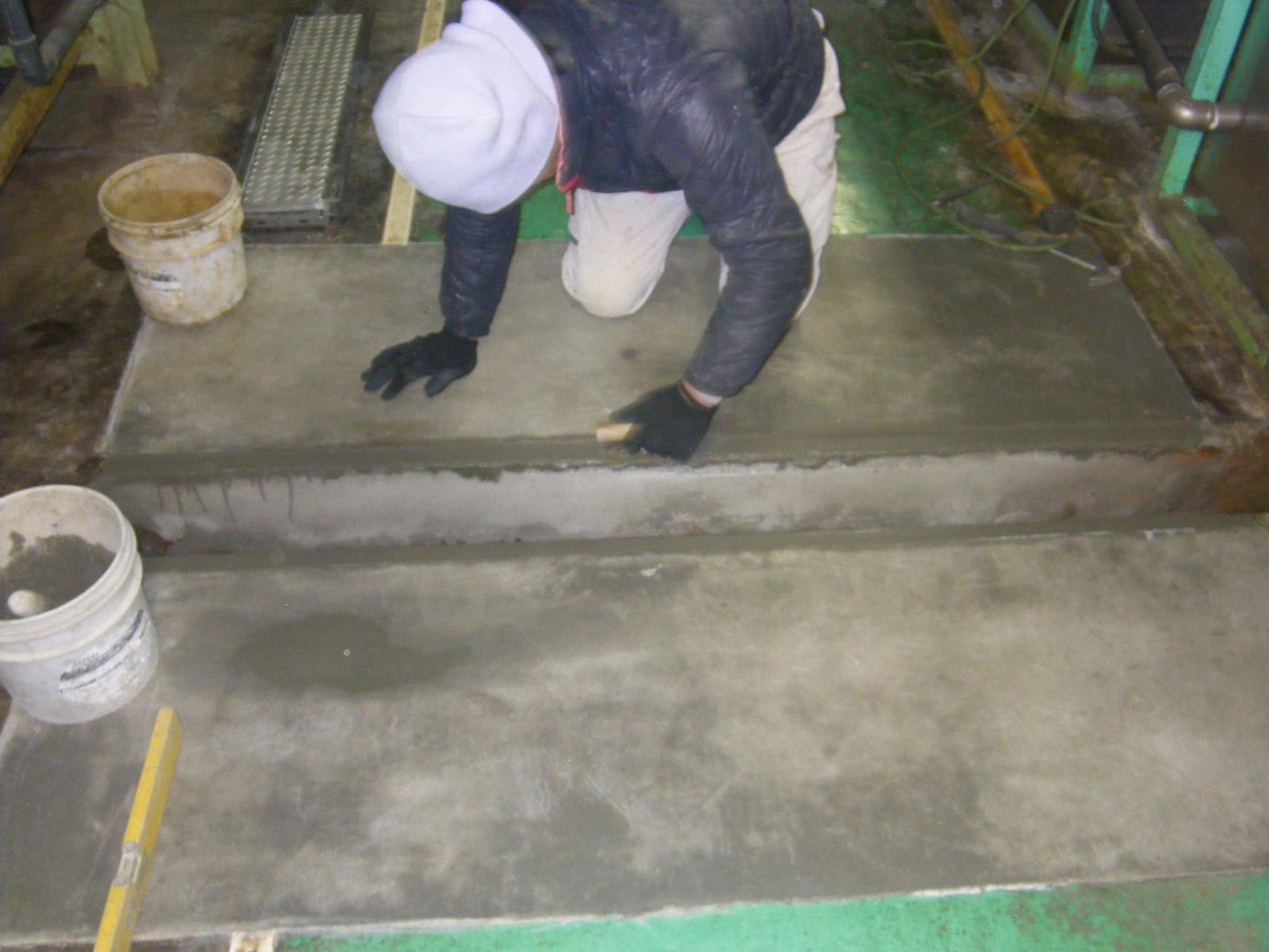 通路及び溝蓋改修工事:工程写真