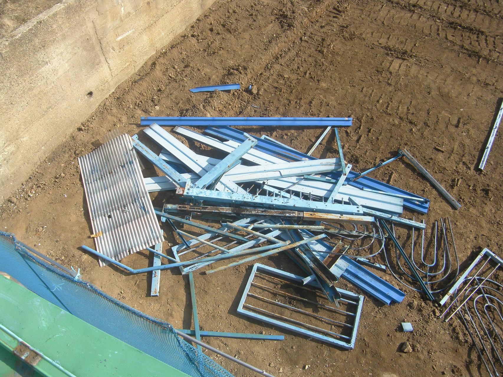 物干し場解体工事:工程写真