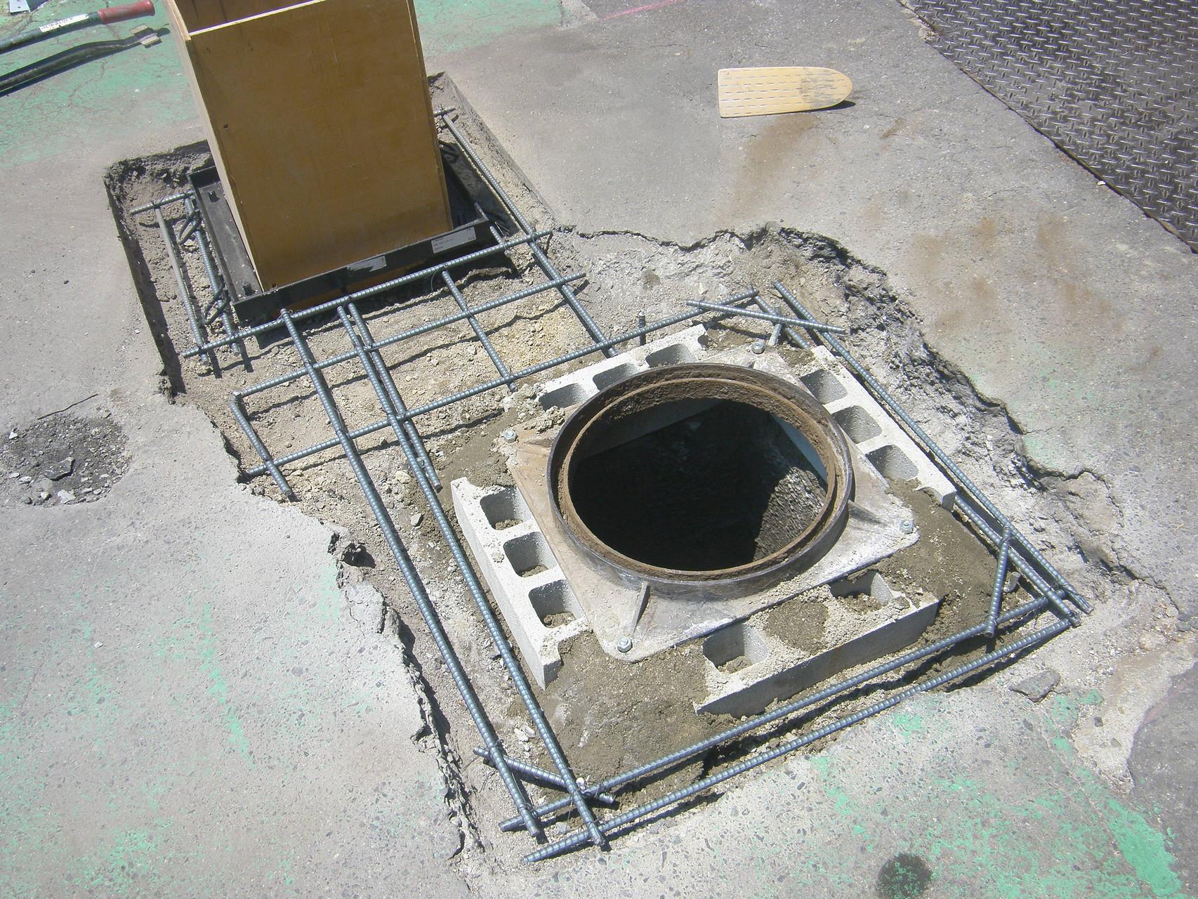 ピット及び舗装改修工事:工程写真