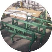 長尺板用作業台