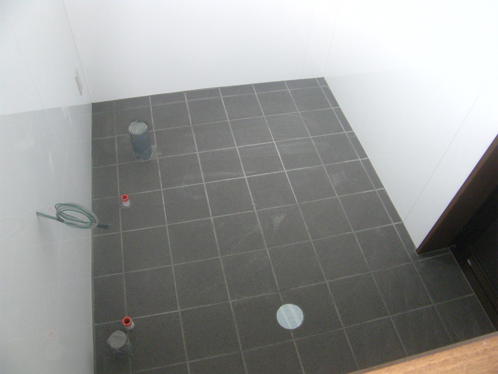 トイレ新設工事:工程写真