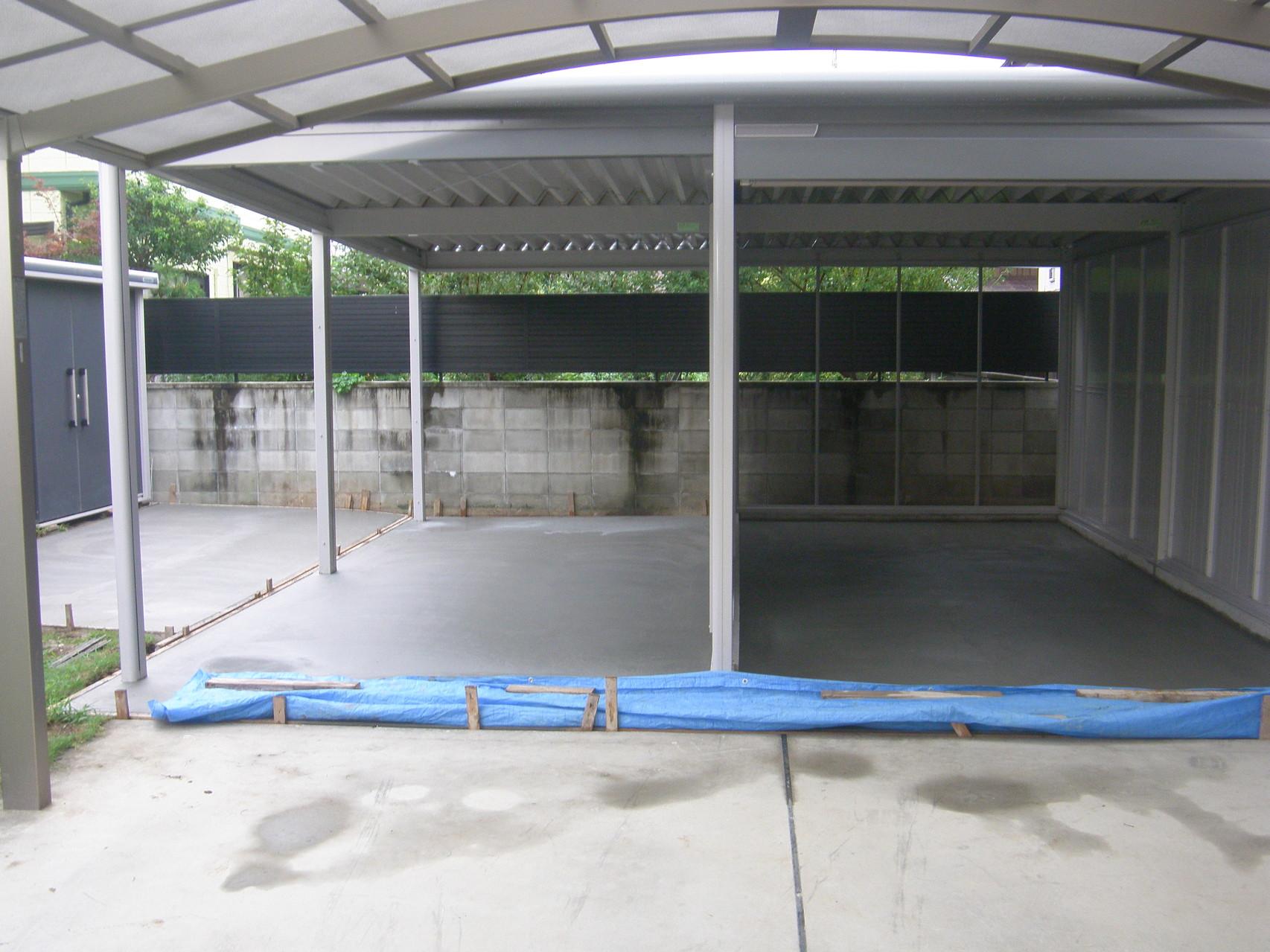 大型ガレージ新設工事:工程写真