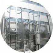 貯水槽タラップ防護柵