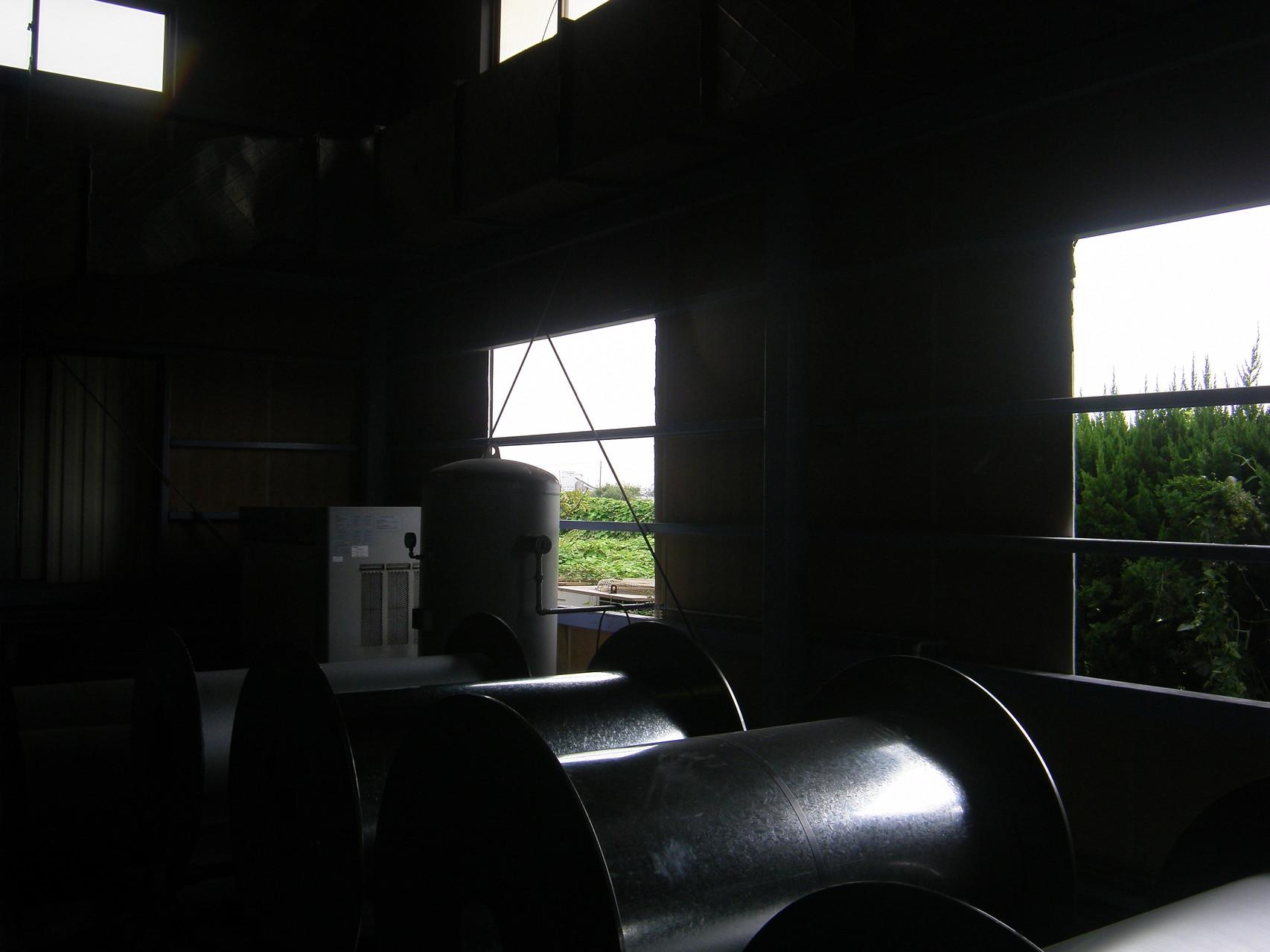 引き違い窓増設工事:工程写真