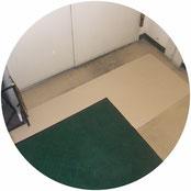 Pタイル床改修工事