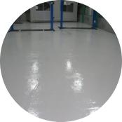 自動車整備工場塗床工事