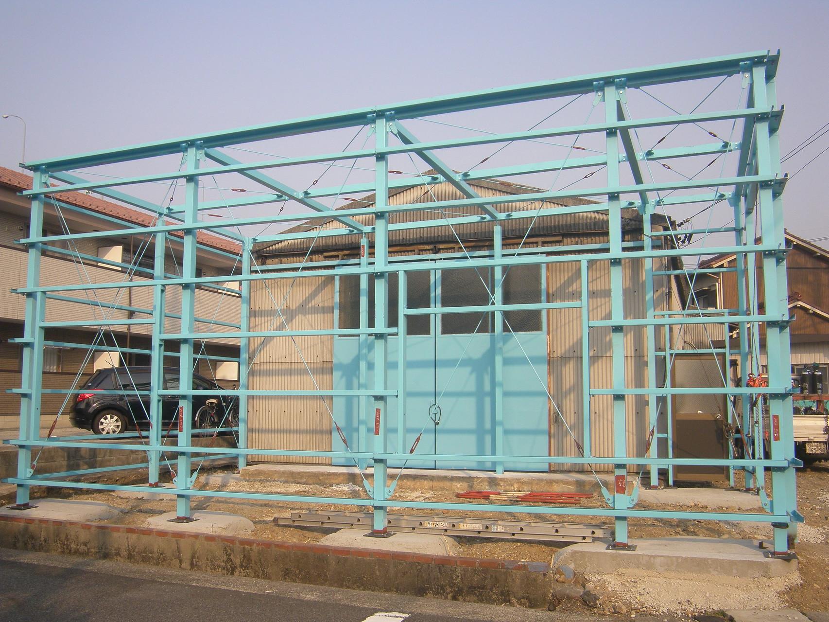 工場新築工事:工程写真