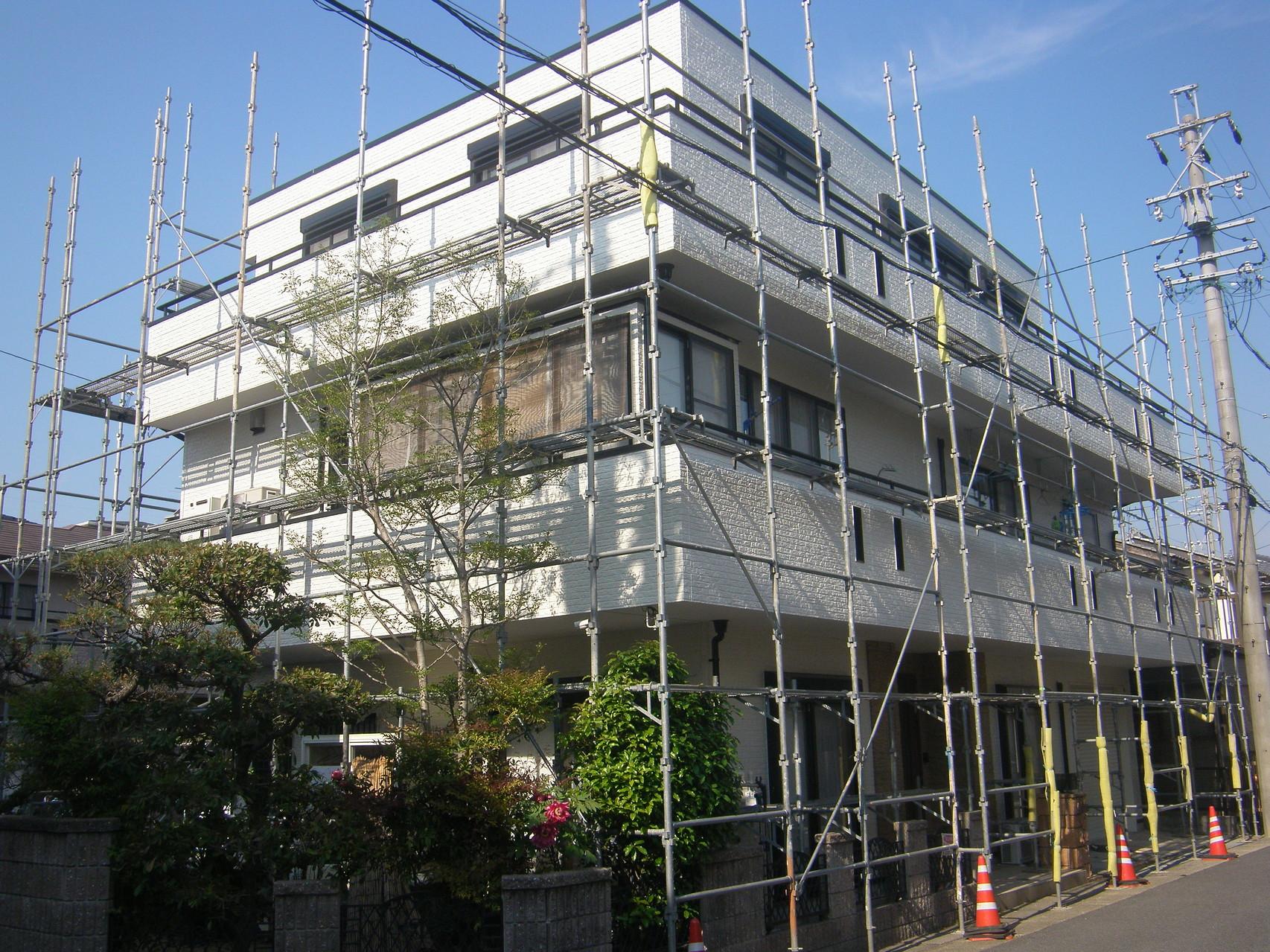 個人住宅塗装リフォーム:工程写真
