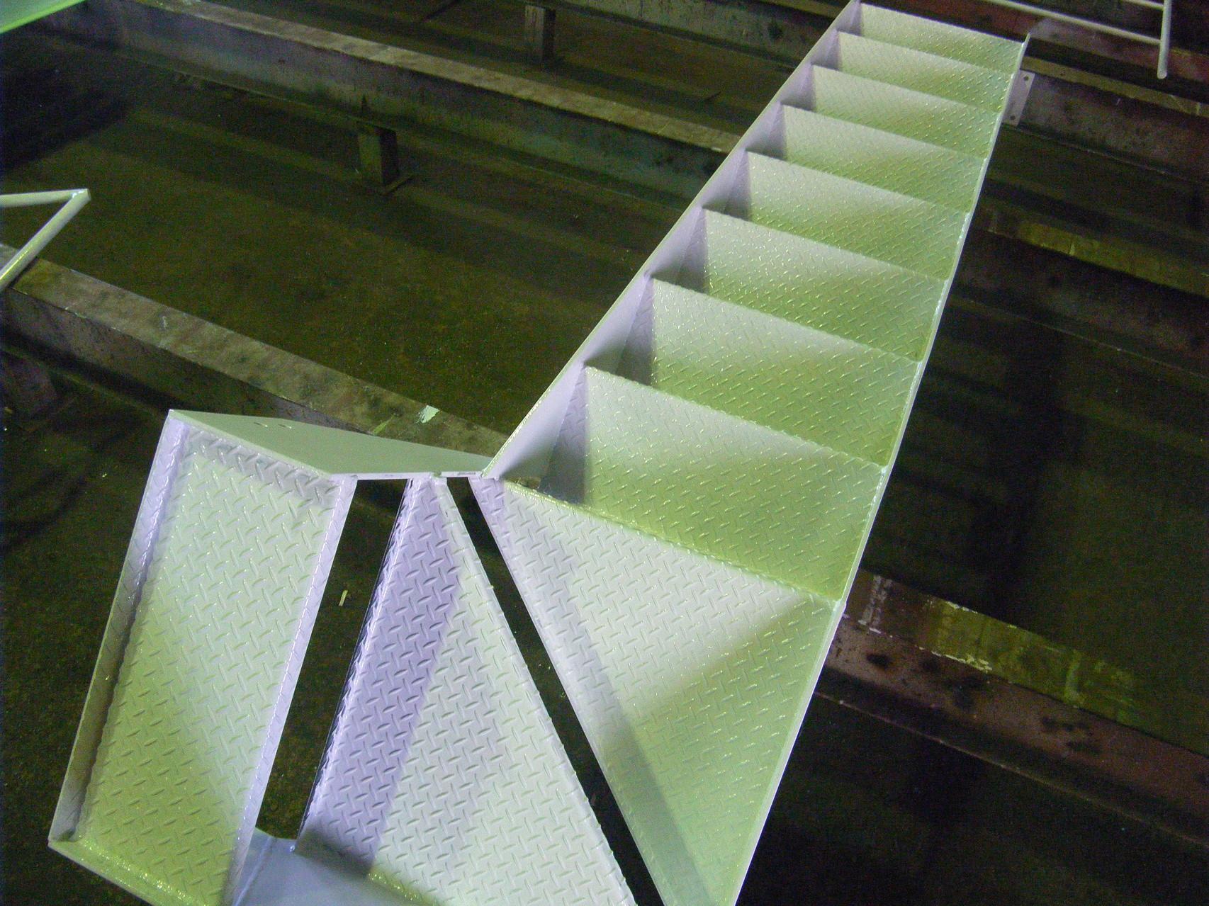 工場内中二階新築工事:工程写真