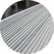 コンテナ屋根防錆塗装