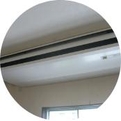食堂エアコン改修工事
