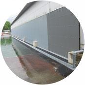 雨水排水対策工事