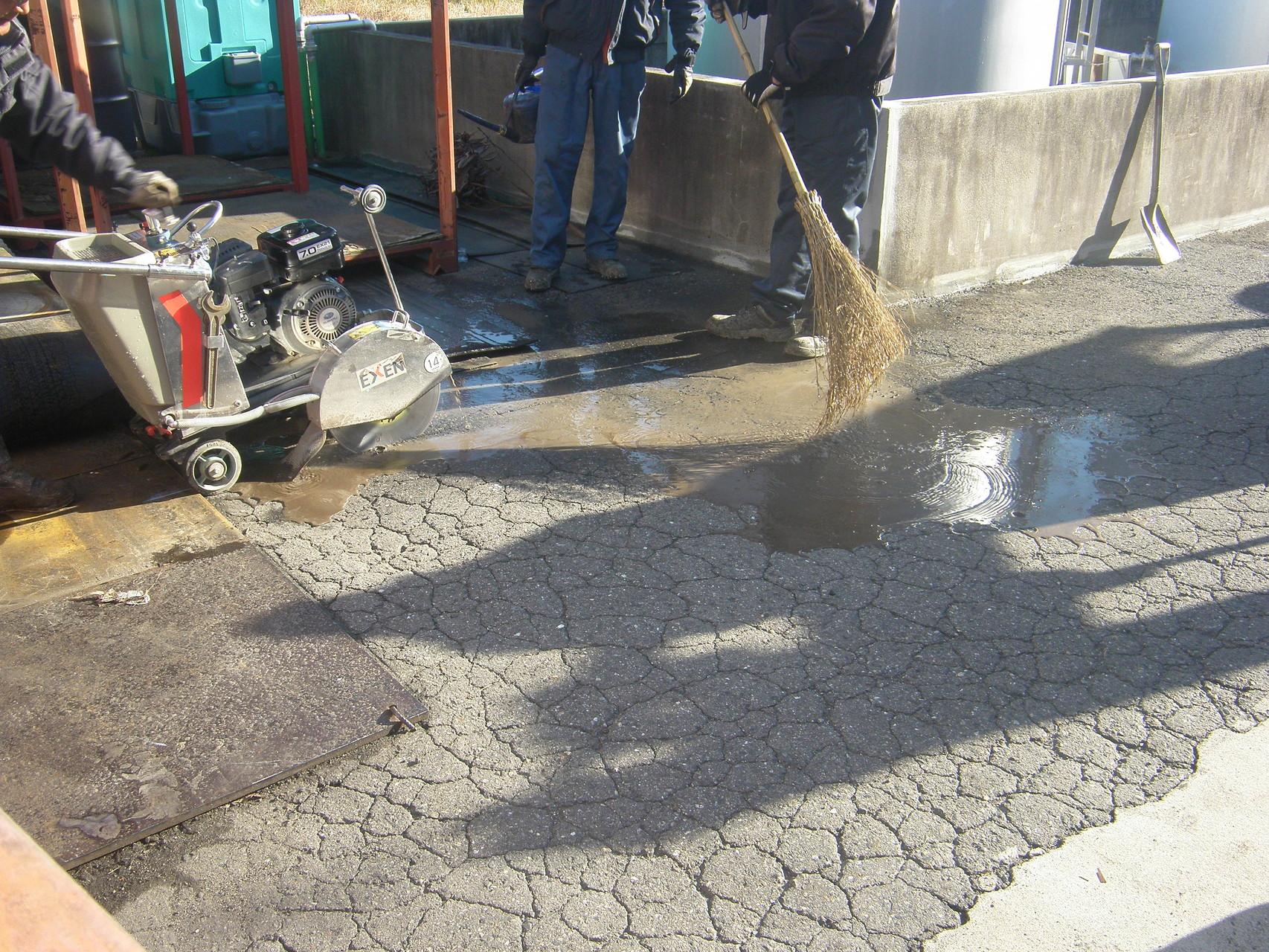 アスファルト舗装:工事工程