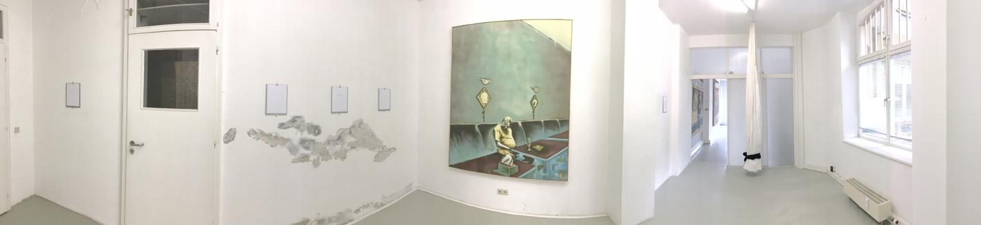 Kosmos Stefan Stichler 2018, Mittelraum,  RUBRECHTCONTEMPORARY galerie
