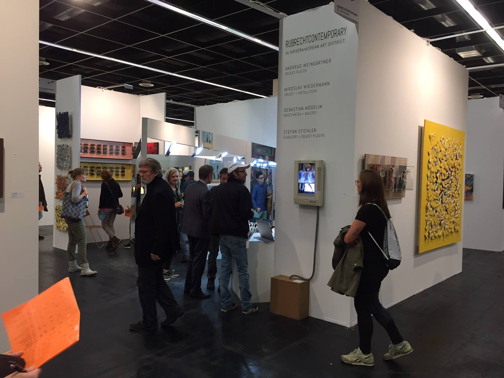 Impression Messe Art.Fair + Blooom 2016, Köln - Stand RUBRECHTCONTEMPORARY