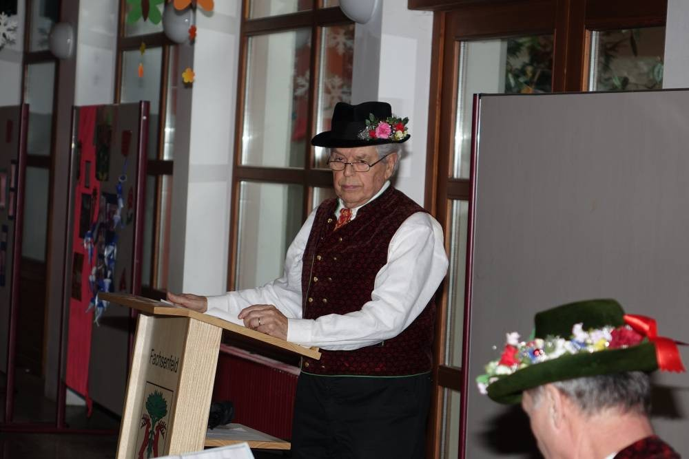 Josef Legner, Ehrenvorsitzender der Gemeinschaft