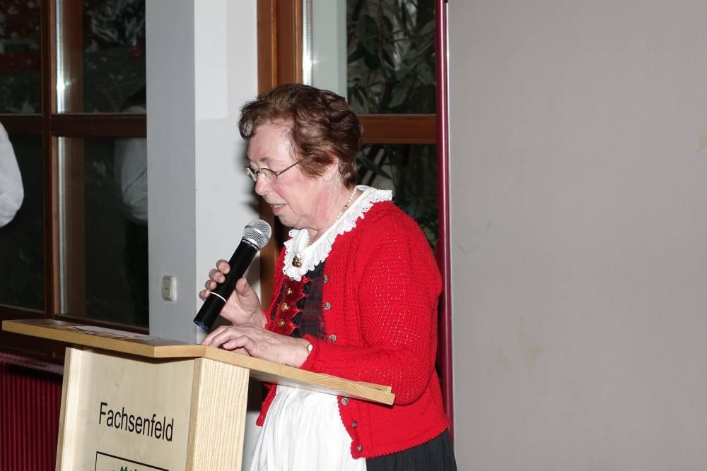 Hilde Fink, Referentin über Integration in Bopfingen-Baldern