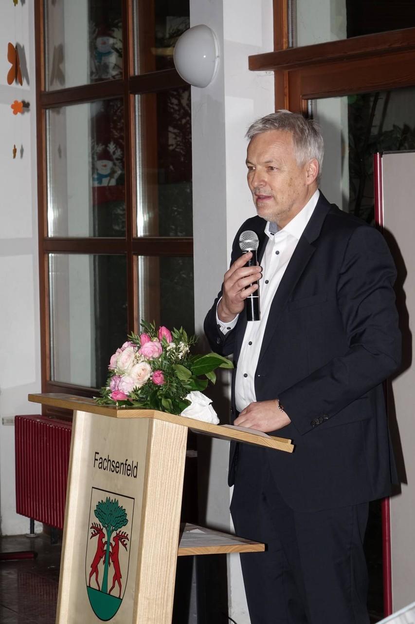 Bürgermeister Herbert Witzany, Westhausen