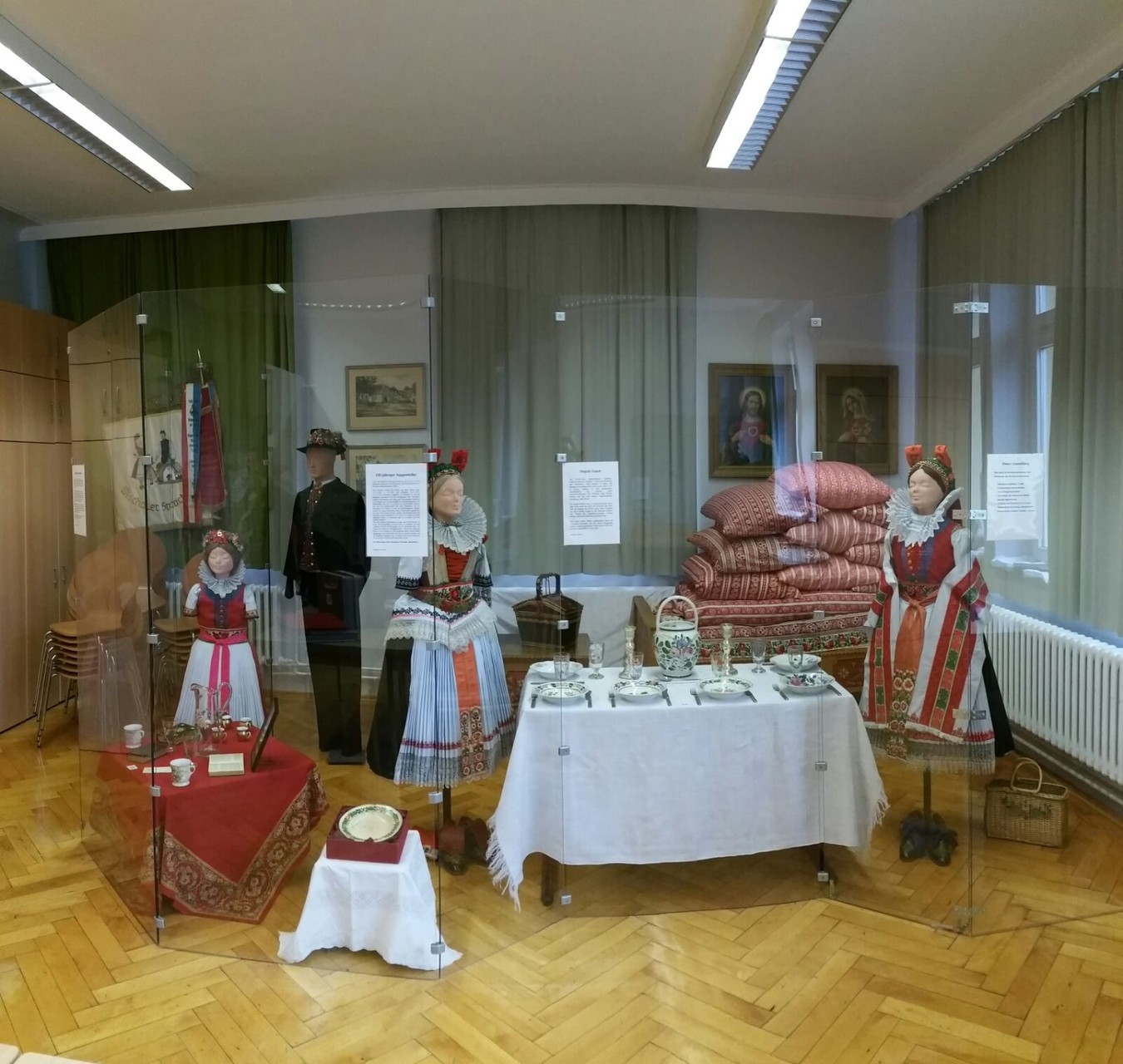 Blick in unsere Dauerausstellung