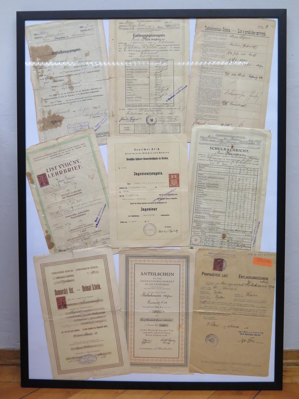alte Dokumente