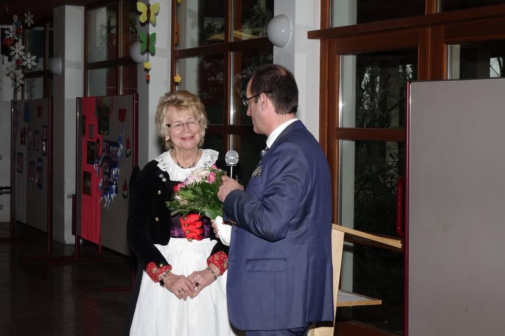 Bürgermeister Karl-Heinz Ehrmann - Rosina Reim